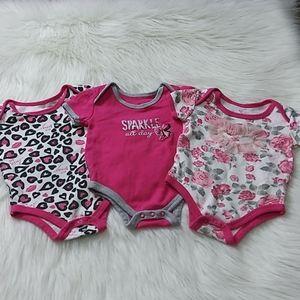 Betsey Johnson Baby Bodysuits
